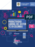 PRODUCTIVIDAD LABORAL DEL SECTOR TIC EN COLOMBIA