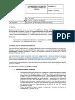 Seal Directriz para prevención y manejo del COVID-19-V01