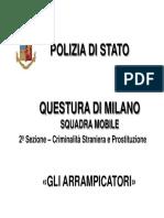 20200302 Squadra Mobile arresto arrampicatori + link video