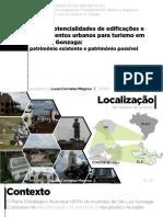 Usos e potencialidades de edificações e equipamentos urbanos para turismo em São Luiz Gonzaga