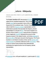 Fourier transform - Wikipedia
