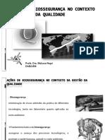 Ações Biossegurança Contexto Gestão Qualidade.pptx