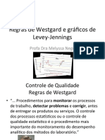 Controle de Qualidade Regras de Westgard