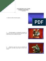 ANÁLISIS DE FALLAS DEL  TURBOCARGADOR