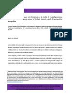 Reseña libro de Carolina Cuesta 2019