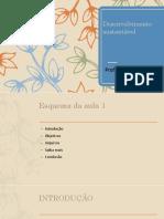 desenvolvimento sustentavel material sociologia aula