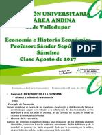 1° presentación clase Economía e Historia Económica