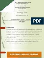 Unidad 1 - Administracion de costos - Graficas SmartArt