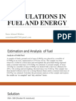 Calculations in Fuel and Energy (17,18)