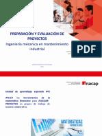 SEMANA Nº3 CLASE 25.03 PREPARACIÓN Y EVALUACIÓN DE PROYECTOS.pptx