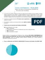 PARA PRENSA - 30.03.2020 Informe Casos Confirmados