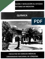 Ciclo de Orientacion y Nivelacion - Quimica 2020