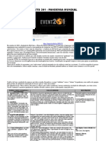 EVENTO 201 - Exposição Do Vídeo - Pandemia Mundial Coronavírus nCovid21