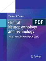 Clinical Neuropsychology and Technology What's New and How We Can Use It