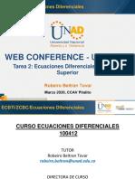 Diapositivas Web Conference Unidad 2 (Marzo 2020) - Robeiro Beltran