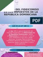 IMPACTO DEL FIDEICOMISO EN LOS IMPUESTOS DE LA