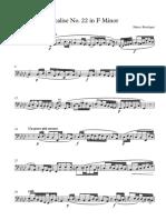 Vocalise 22 [Bass] - Trombone