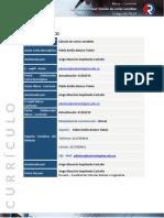 Curriculo 2019 Calculo de varias variables