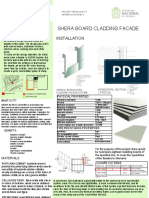 shera board cladding facade
