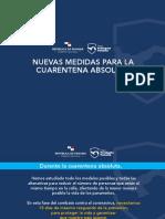 Decretan nuevas medidas de cuarentena en Panamá por el COVID-19