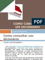 Slide Como consultar um dicionário.ppt
