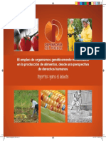 Aportes para el debate.OGM desde la perspectiva de DDHH