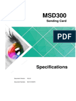MSD300-Sending-Card-Specifications-V2.2.0
