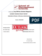 Outlook publication training project report