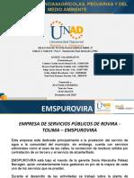 Unidad 1 y 2 - Paso 5 - Elaborar sustentación alternativas PML