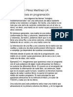 Investigacion sobre Matrices en Programacion