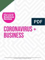 Havard Business Review - Coronavirus + Business