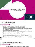 INTRODUCCION A LA PUBLICIDAD CLASE 1
