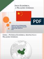 China e a Geopolítica