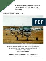 Recomendaciones Operacionales Para Tripulaciones de Vuelo en Aviación General