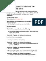 Onkyo nr646 manual