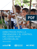 Key Messages and Actions for COVID-19 Prevention and Control in Schools_Spanish