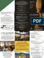 Academie St Geniez Depliant 2020