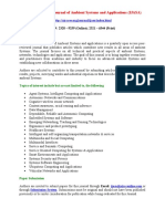 The International Journal of Ambient Systems and Applications (IJASA)