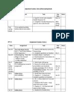 efp 12 assignment tracker