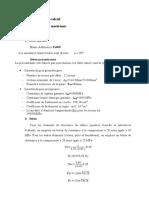 hypothese de calcul