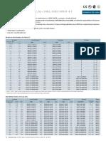 Siemens Type 2 chart