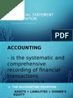 FINANCIAL STATEMENT PREPRATION