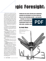 Strategic Foresight - The State of the Art