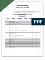 Information Brochure (Blp)
