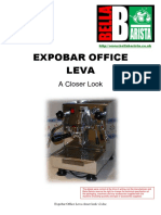 Expobar Office Leva closer look