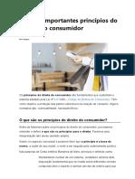 Os mais importantes princípios do direito do consumidor.docx