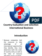 Country Evaluation and Selection of International Business.pptx