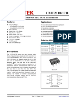 CMT2110-17B Datasheet Ver0.1-EN.pdf