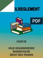 Schoolreglement 2010 - 2011