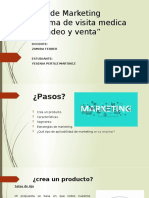 "Modulo de Marketing ""Programa de visita medica y mercadeo y venta"""